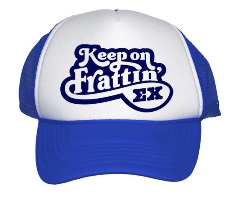 Keep On Frattin Trucker Hat