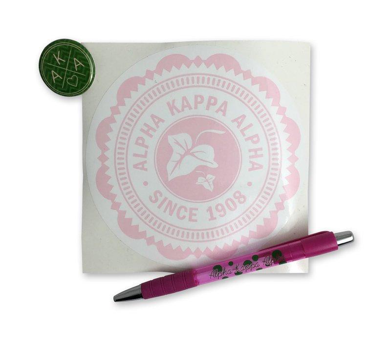 Alpha Kappa Alpha Sorority Pack $5.00