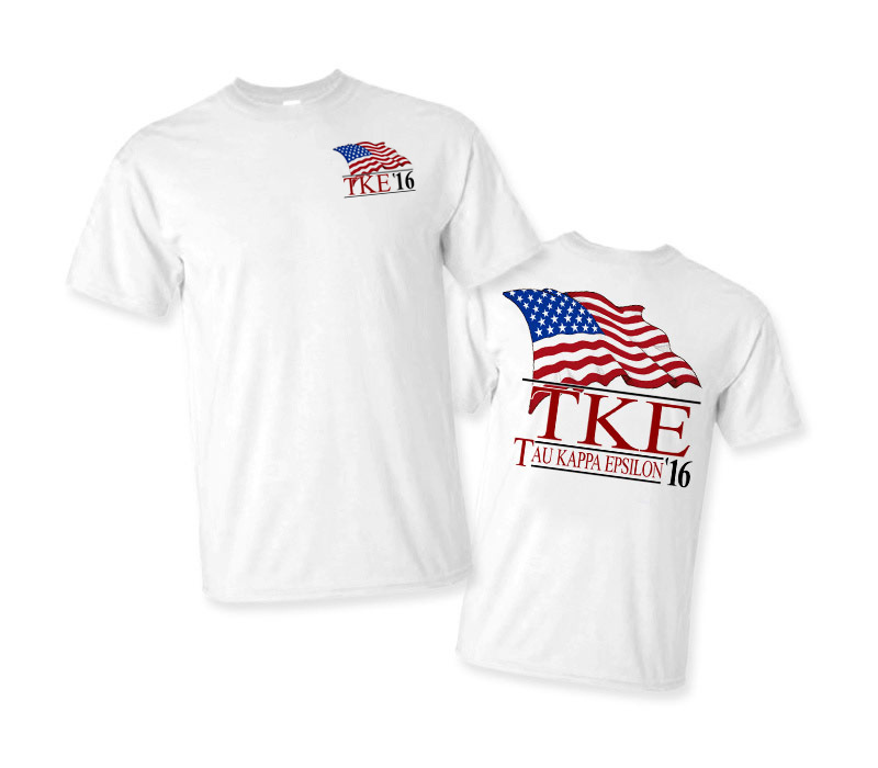 Limited Edition Fraternity Patriot Tee - Comfort Colors