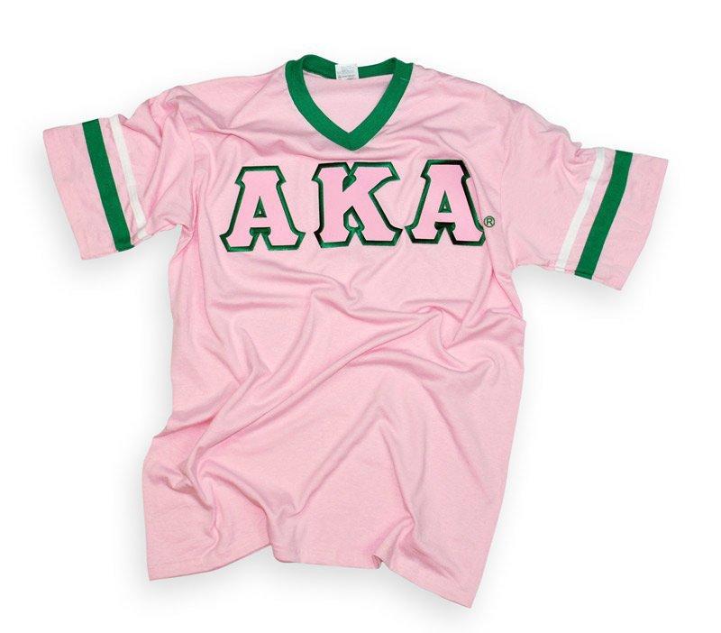 DISCOUNT-Alpha Kappa Alpha Jersey W/ Custom Sleeves