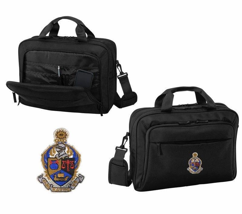 DISCOUNT-Alpha Kappa Psi Emblem Briefcase