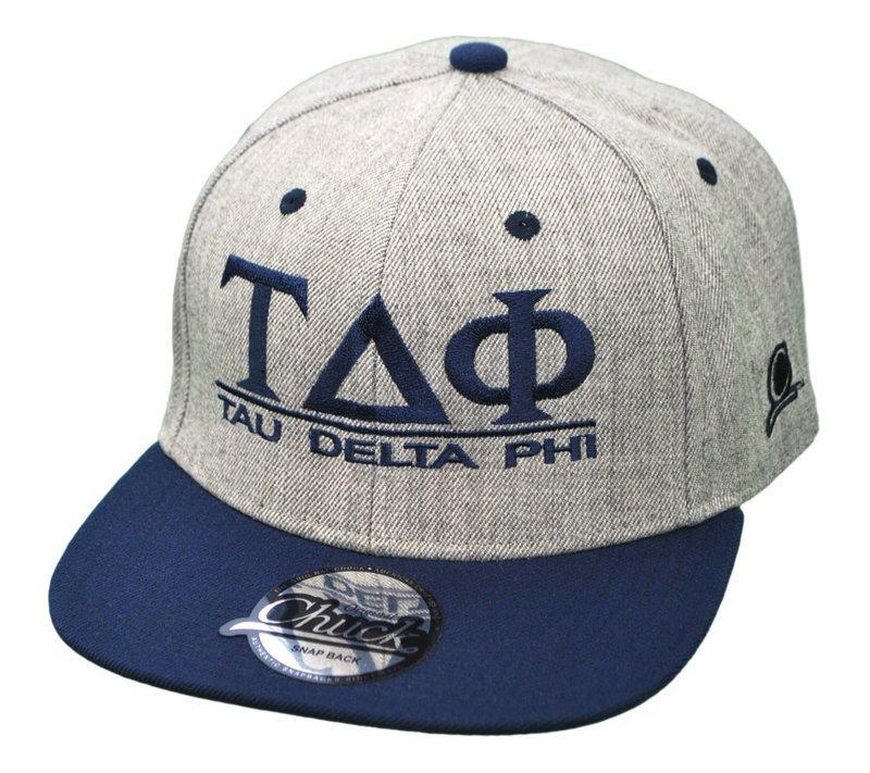 Tau Delta Phi Flatbill Snapback Hats Original