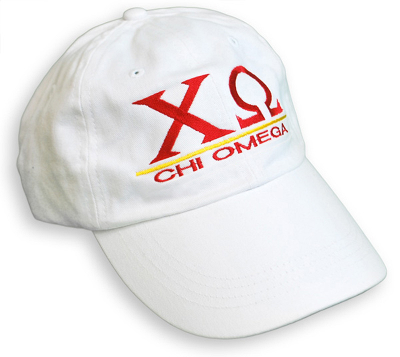 Chi Omega World Famous Line Hat