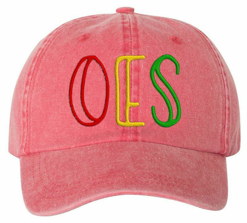 Order Of Eastern Star Carson Greek Letter Hats