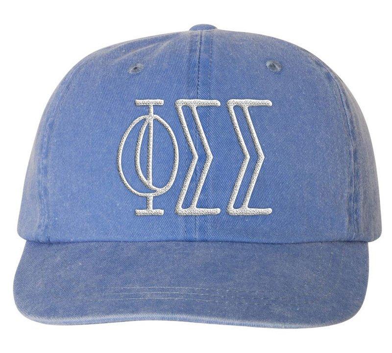 Phi Sigma Sigma Carson Greek Letter Hats