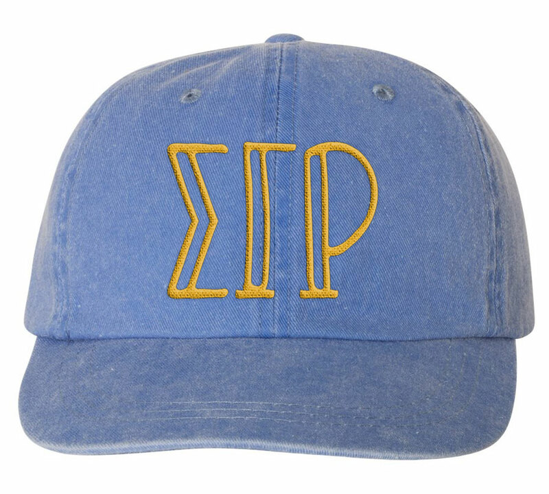 Sigma Gamma Rho Carson Greek Letter Hats