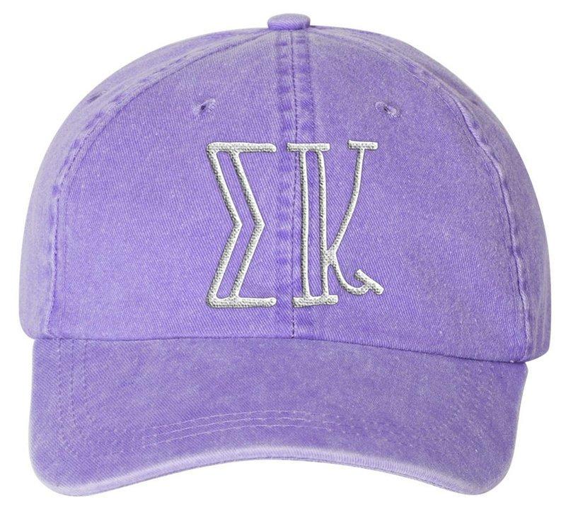 Sigma Kappa Carson Greek Letter Hats