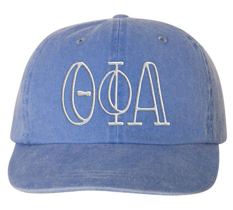 Theta Phi Alpha Carson Greek Letter Hats