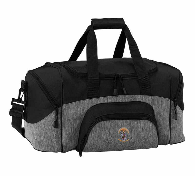 Sigma Pi Colorblock Duffel Bag