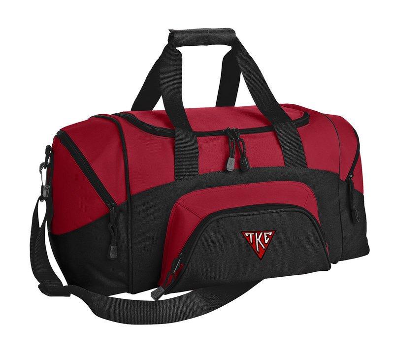 Tau Kappa Epsilon House Plate Triangle Colorblock Duffel Bag