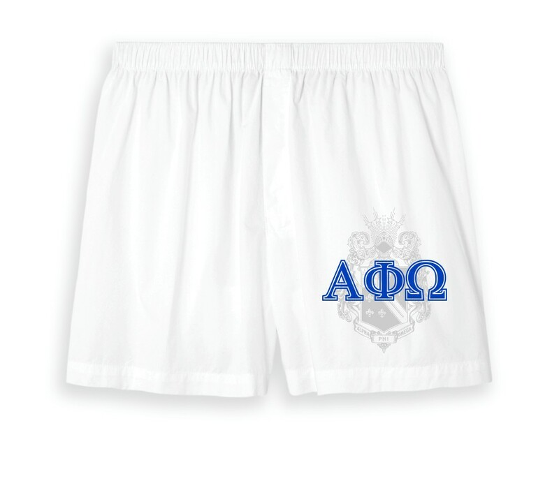 Alpha Phi Omega Boxer Shorts