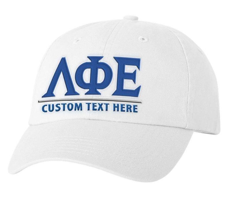 Lambda Phi Epsilon World Famous Line Hat