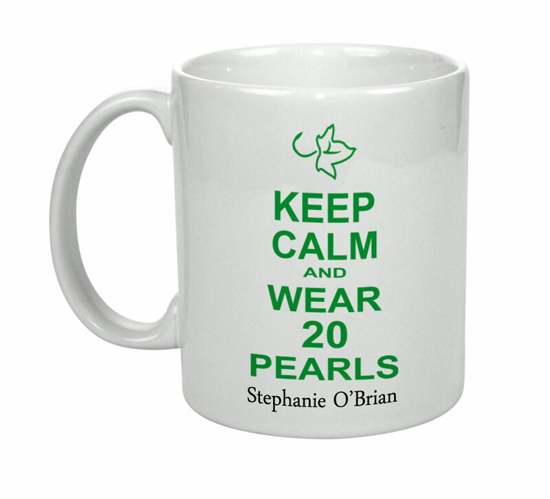 Alpha Kappa Alpha Keep Calm Coffee Mug