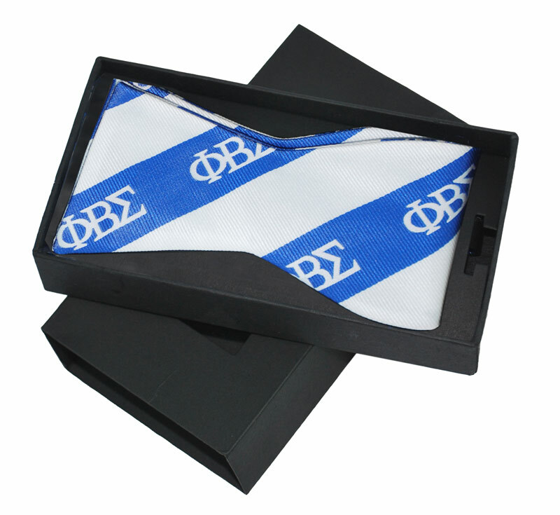 Phi Beta Sigma Bow Tie W/ Matching Handkerchief