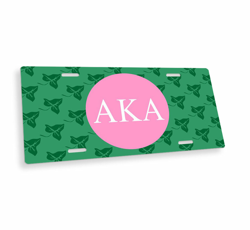 Alpha Kappa Alpha Mascot License Plate