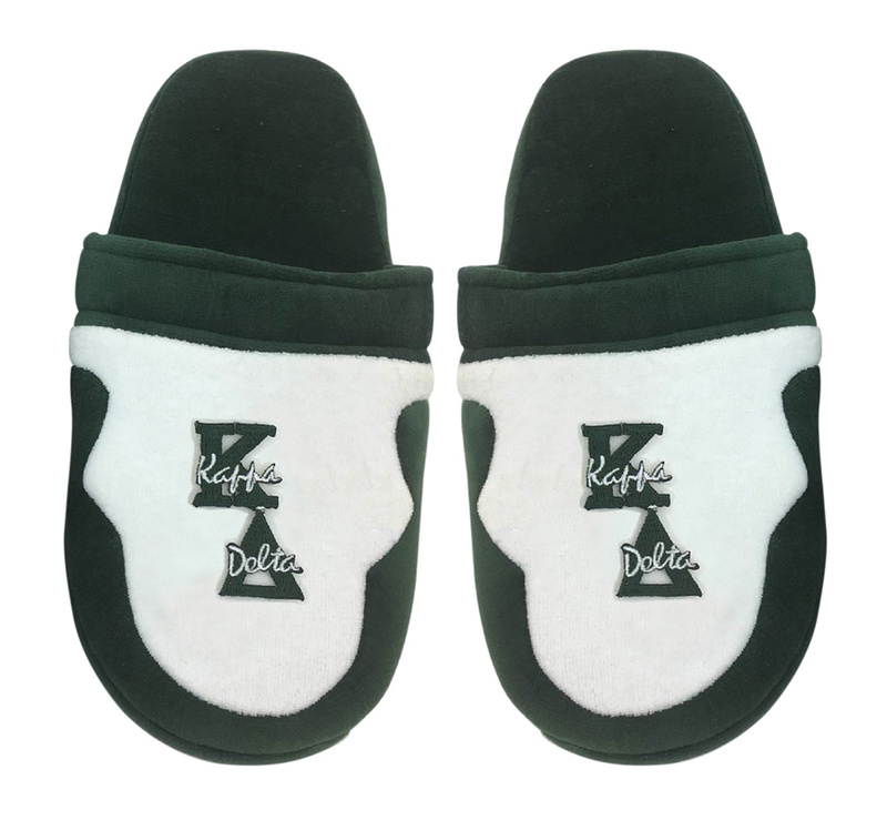 addba999d0d6 DISCOUNT-Kappa Delta Letter Slippers SALE  24.95. - Greek Gear®