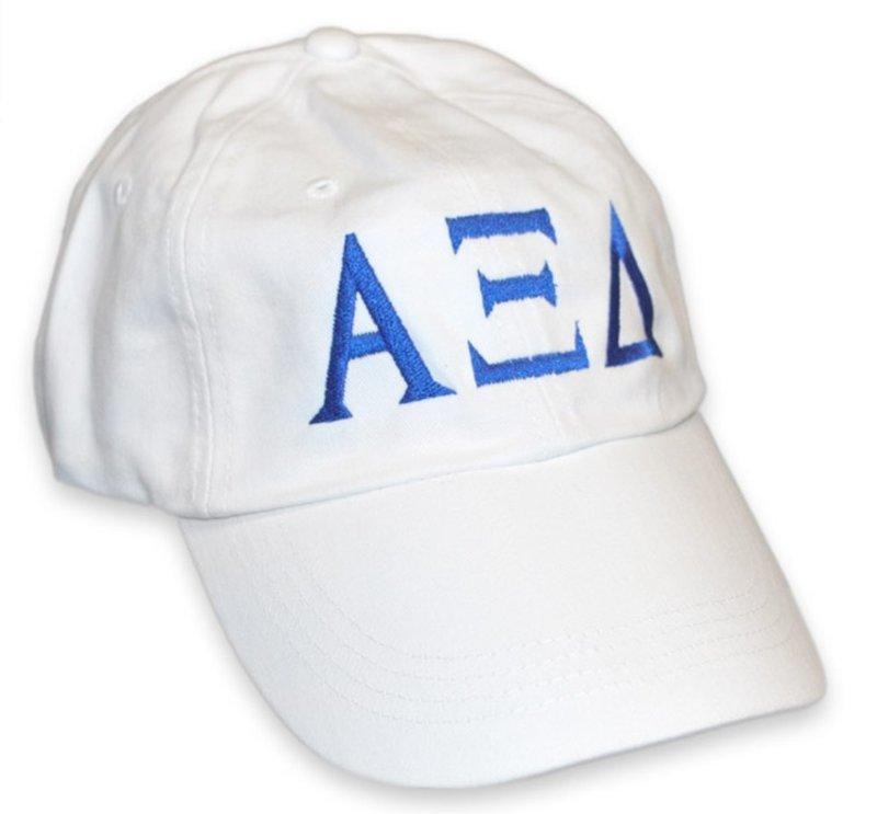 Alpha Xi Delta Letter Hat