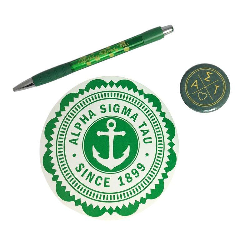 Alpha Sigma Tau Sorority Pack $5.00