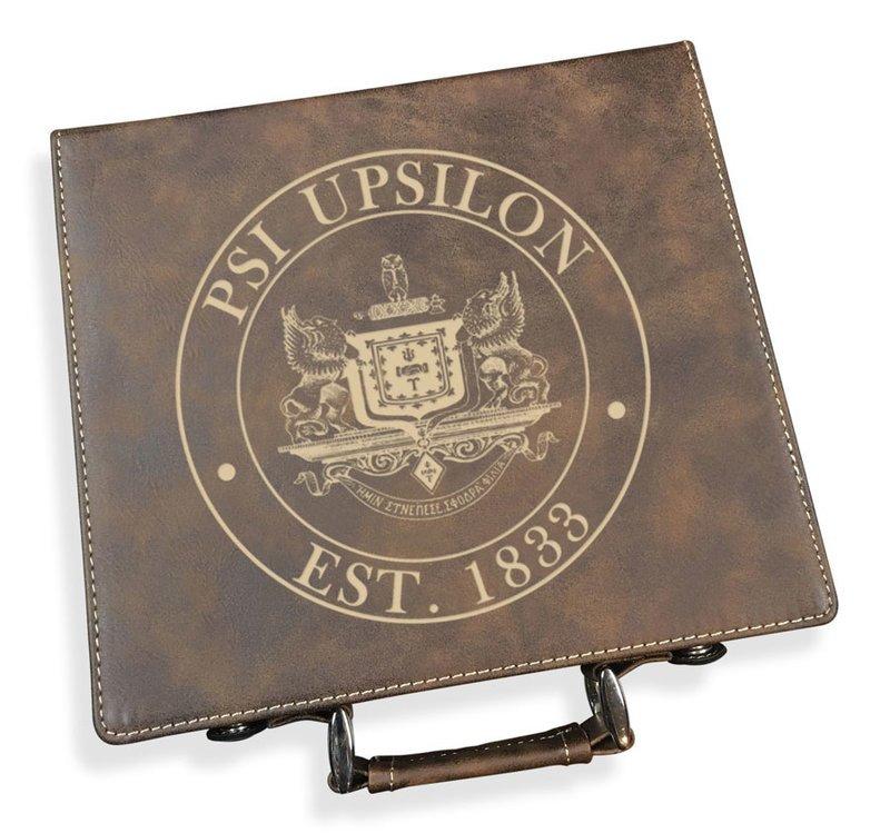 Psi Upsilon Poker Set