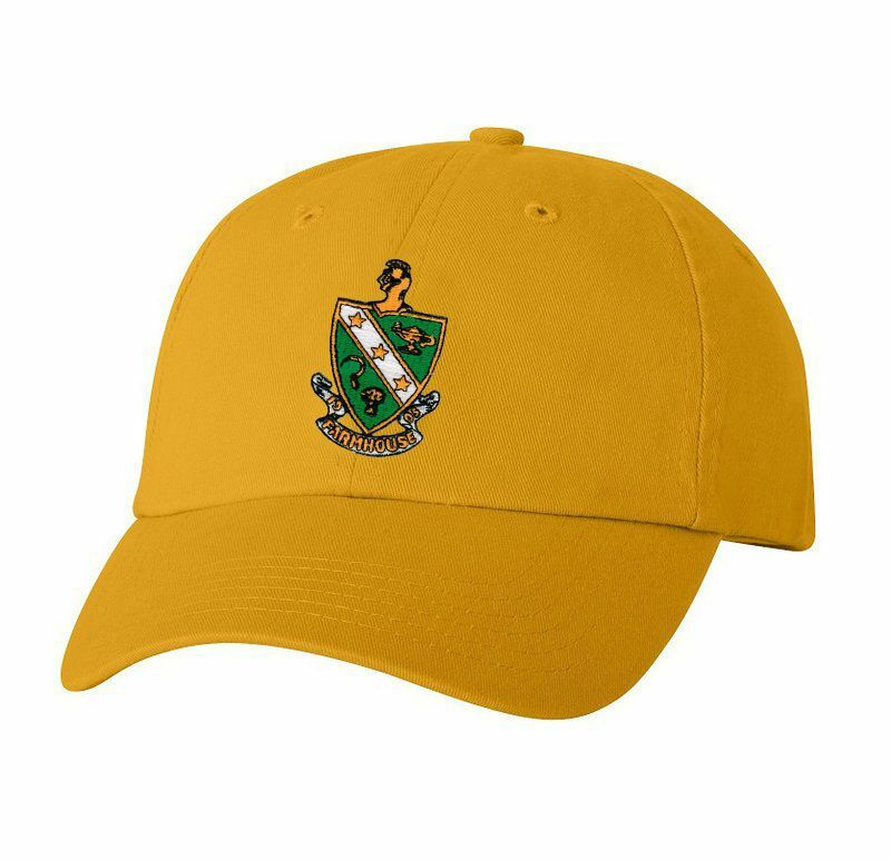 DISCOUNT-FarmHouse Fraternity Crest - Shield Emblem Hat