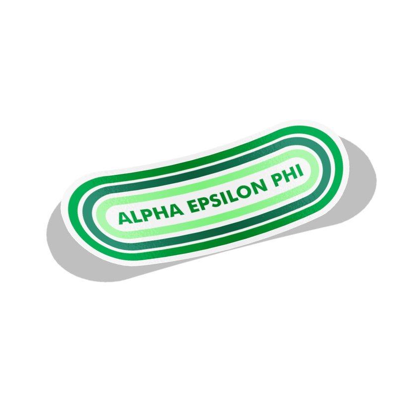 Alpha Epsilon Phi Capsule Decal Sticker