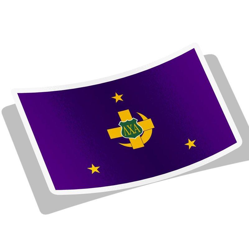 Lambda Chi Alpha Flag Decal Sticker