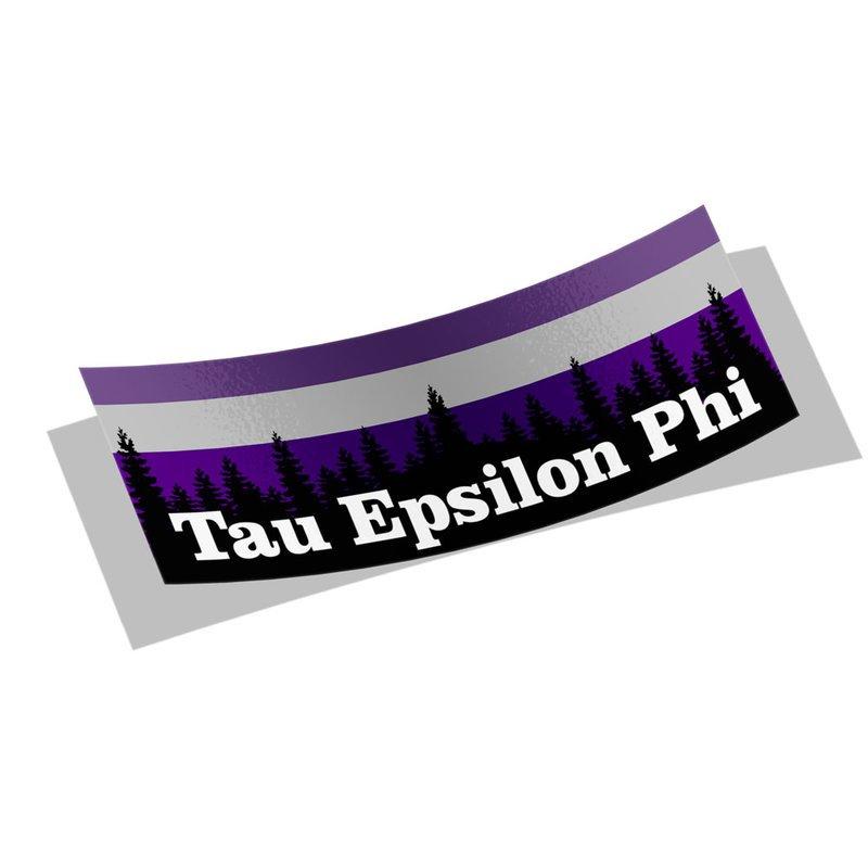 Tau Epsilon Phi Mountain Decal Sticker