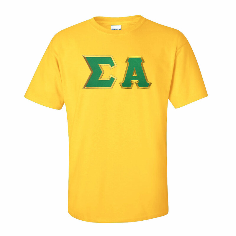 DISCOUNT Sigma Alpha Lettered Tee