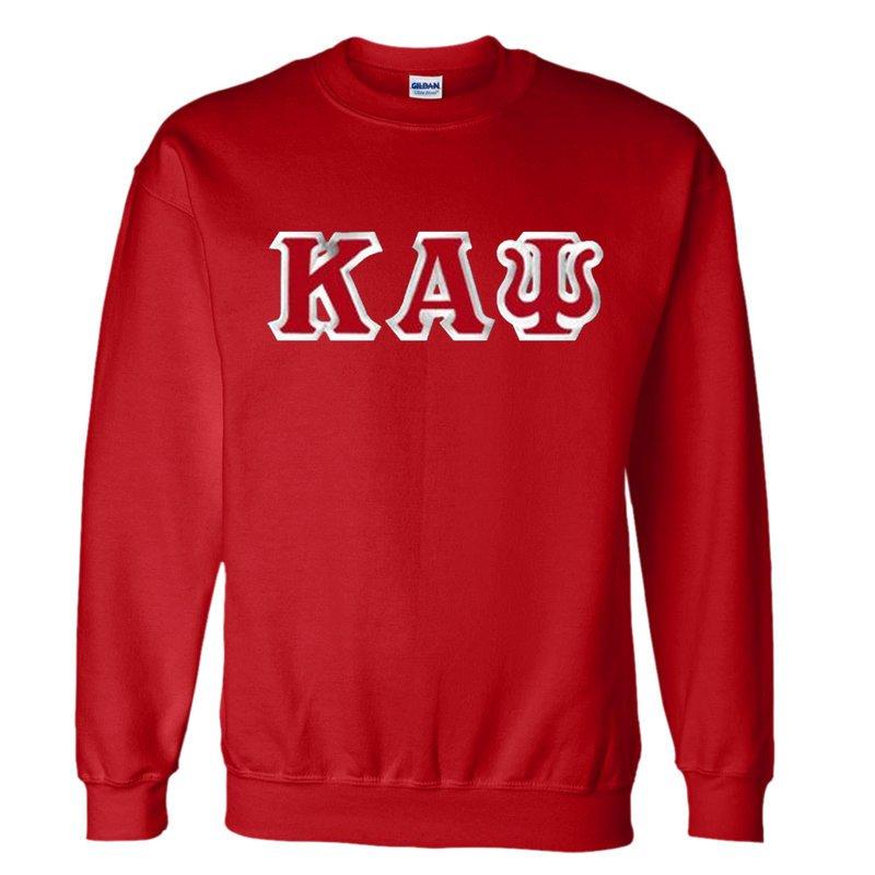 Kappa Alpha Psi Custom Twill Crewneck Sweatshirt