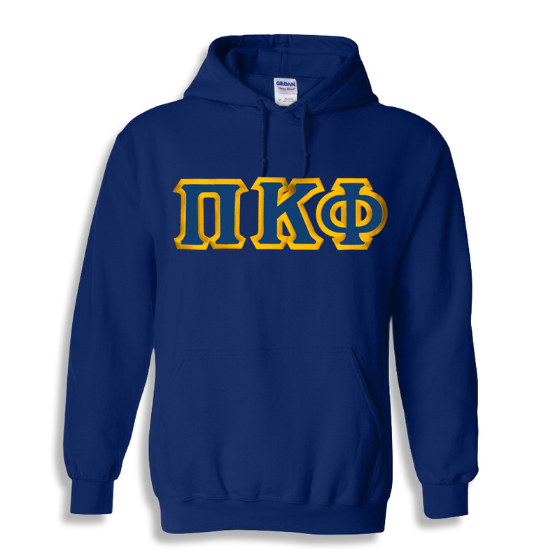 Pi Kappa Phi Custom Twill Hooded Sweatshirt