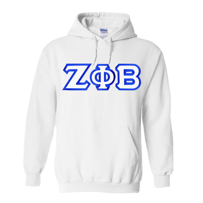 Zeta Phi Beta Custom Twill Hooded Sweatshirt