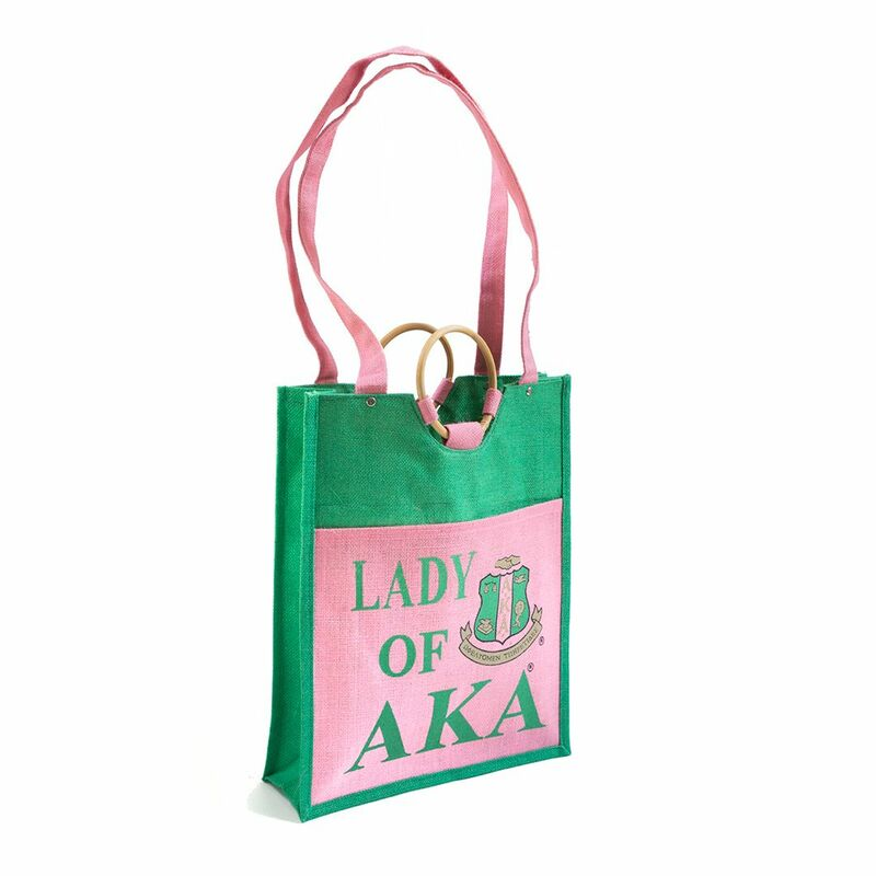 AKA Pocket Jute Shopping Bag