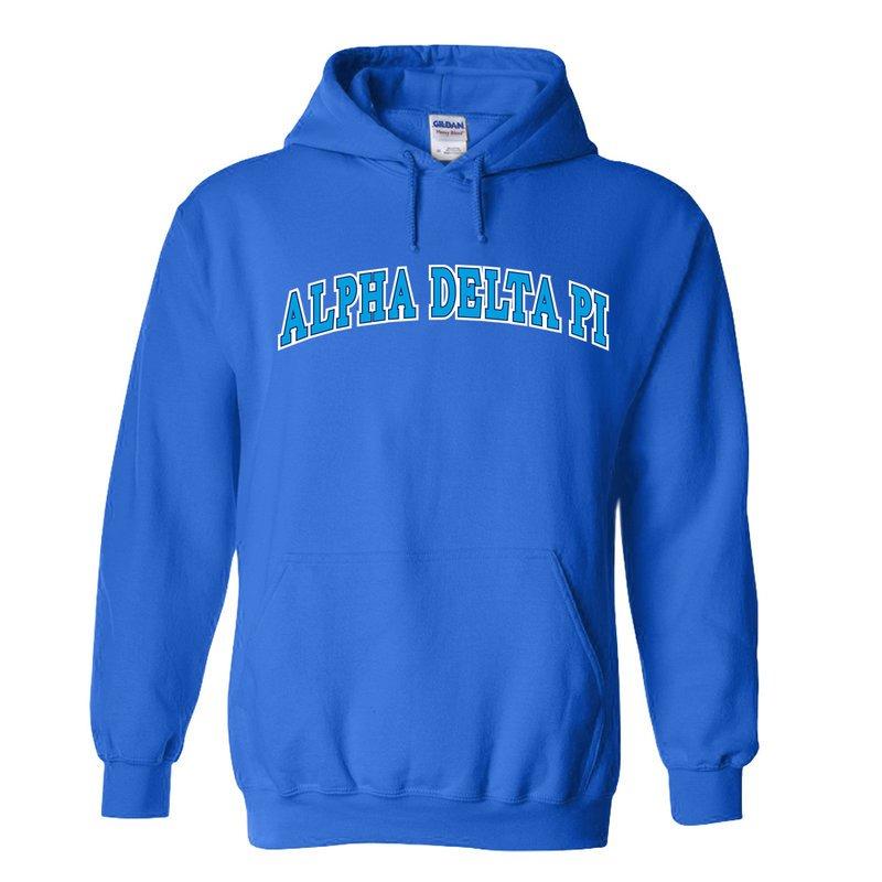 Alpha Delta Pi Super Saver Letterman Hoodie