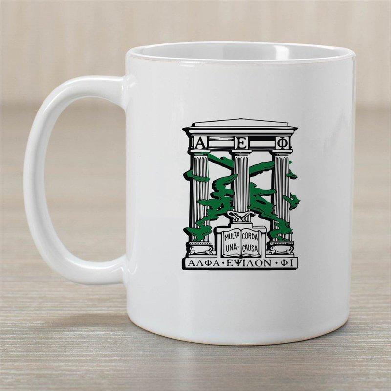 Alpha Epsilon Phi Crest Coffee Mug
