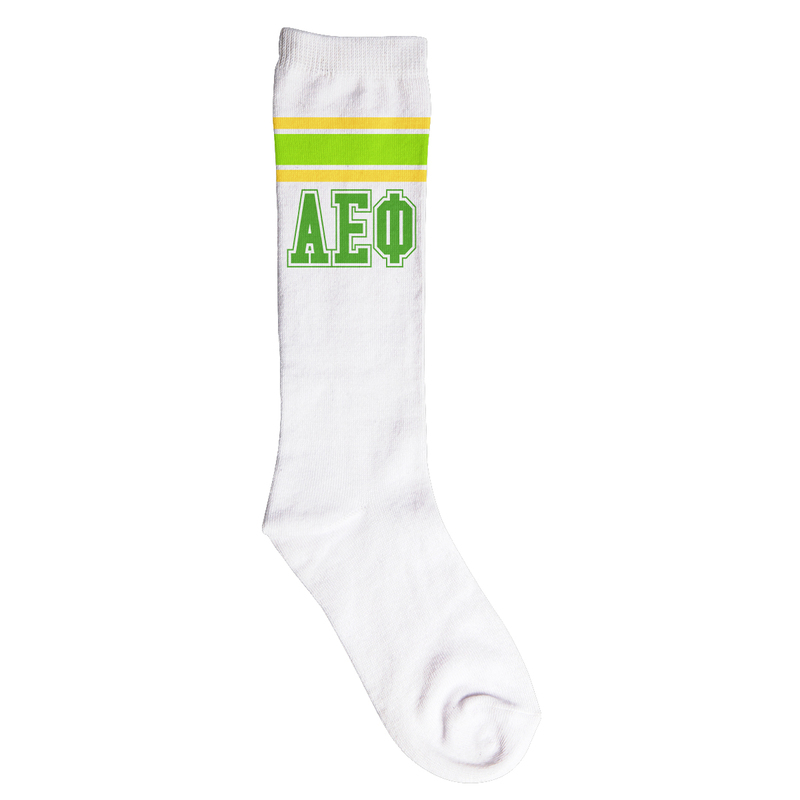 Alpha Epsilon Phi Knee High Socks