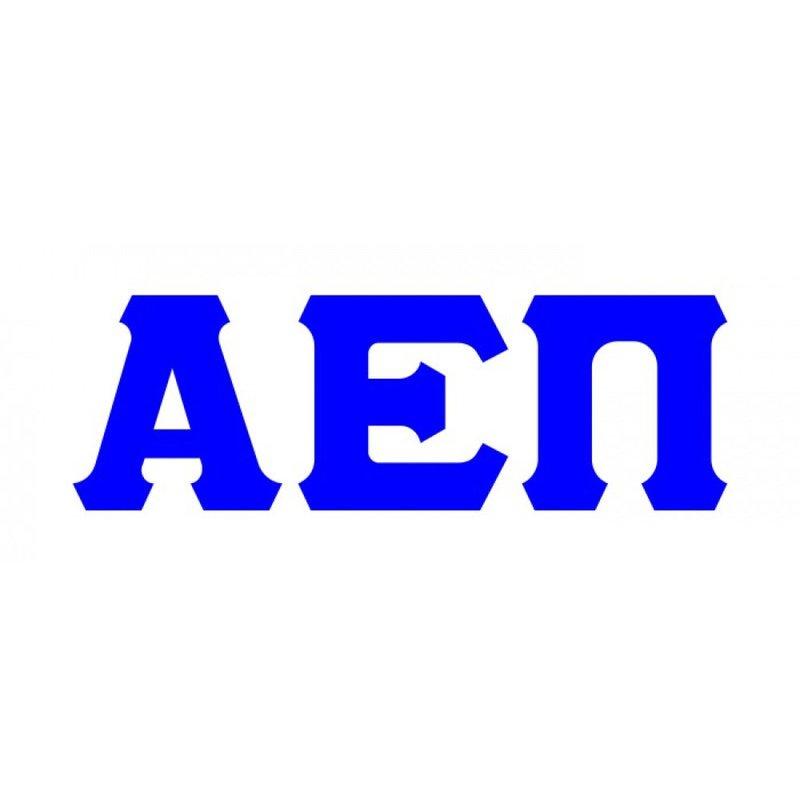Alpha Epsilon Pi Big Greek Letter Window Sticker Decal
