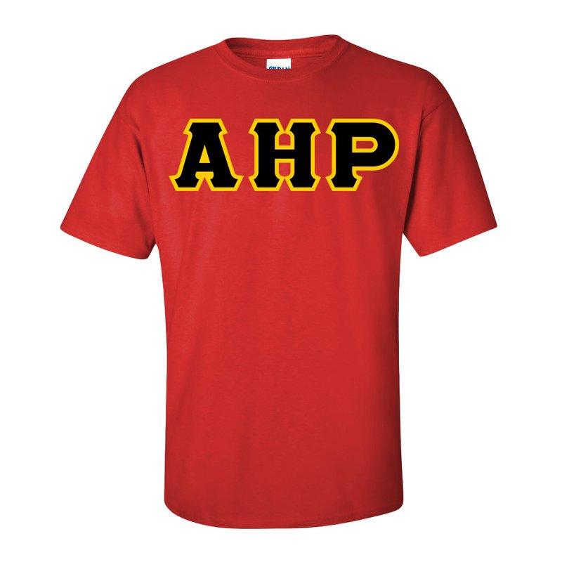 Alpha Eta Rho Lettered T-Shirt