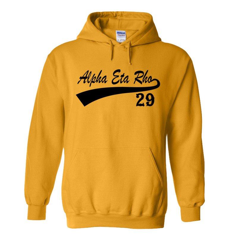 Alpha Eta Rho Tail Hoodie