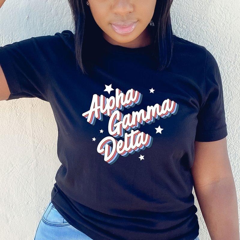 Alpha Gamma Delta Flashback Tee