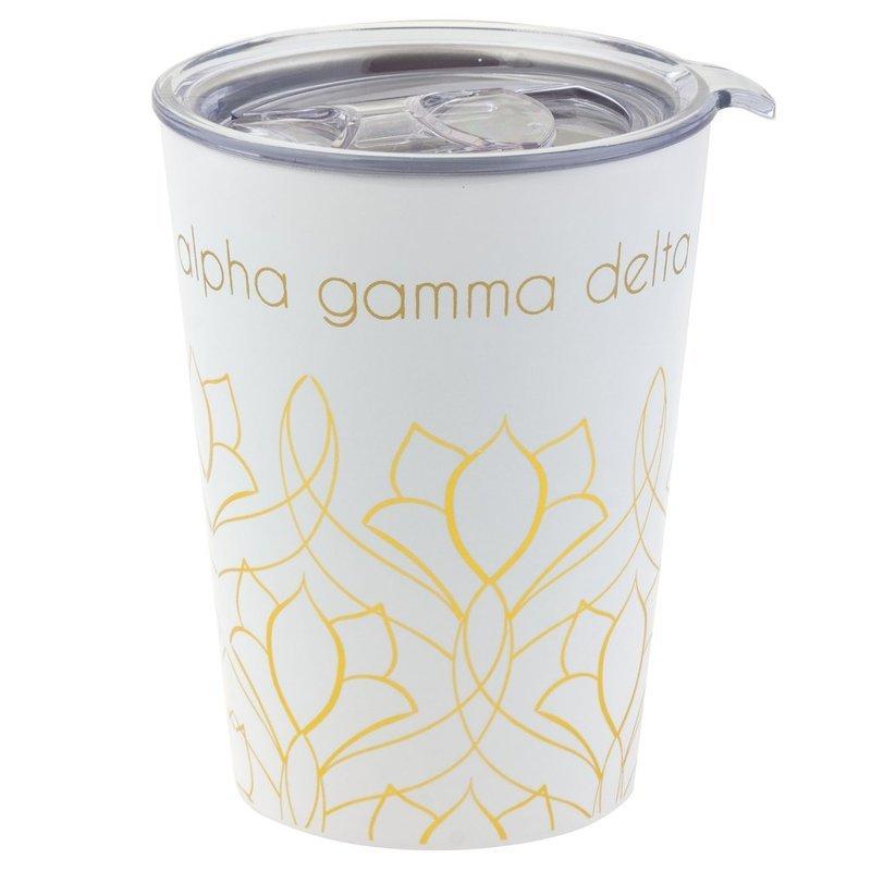 Alpha Gamma Delta Short Coffee Tumblers