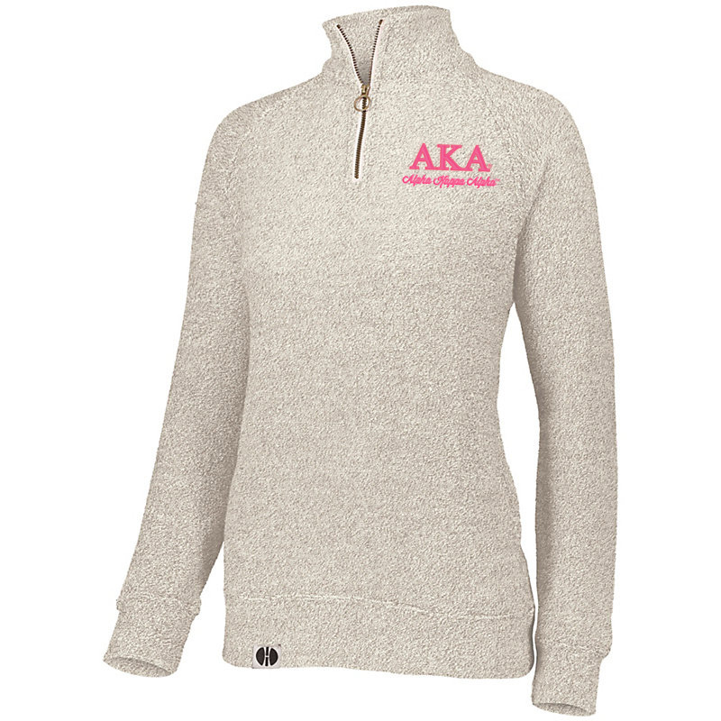 Alpha Kappa Alpha Cuddly 1/4 Zip Pullover