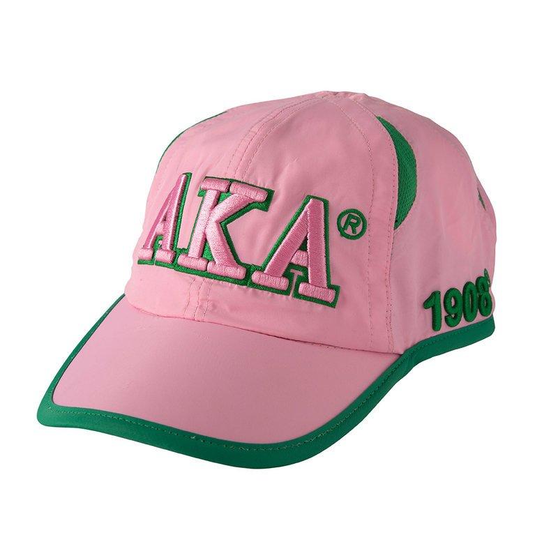 Alpha Kappa Alpha Greek Featherlight Cap