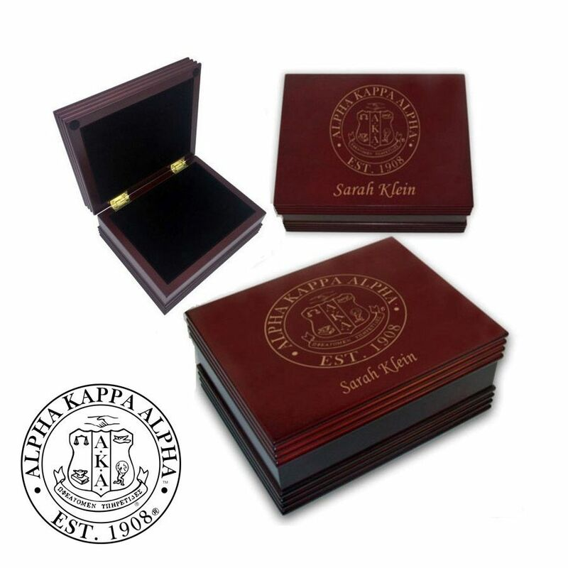 Alpha Kappa Alpha Keepsake Box