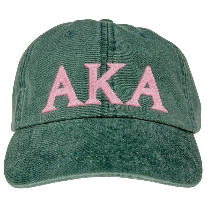 Alpha Kappa Alpha Lettered Premium Pastel Hat
