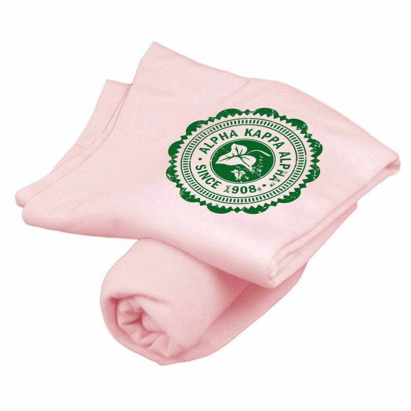 Alpha Kappa Alpha Old School Seal Sweatshirt Blanket