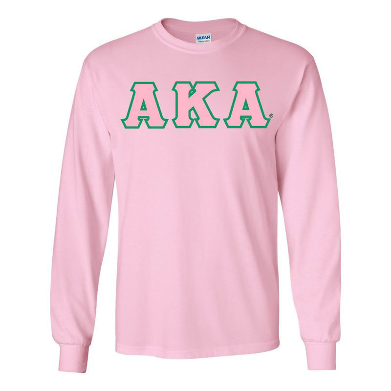 Alpha Kappa Alpha Long Sleeve T-shirts