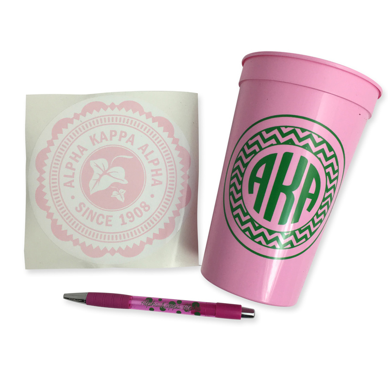 Alpha Kappa Alpha Sorority For Starters Collection $8.95