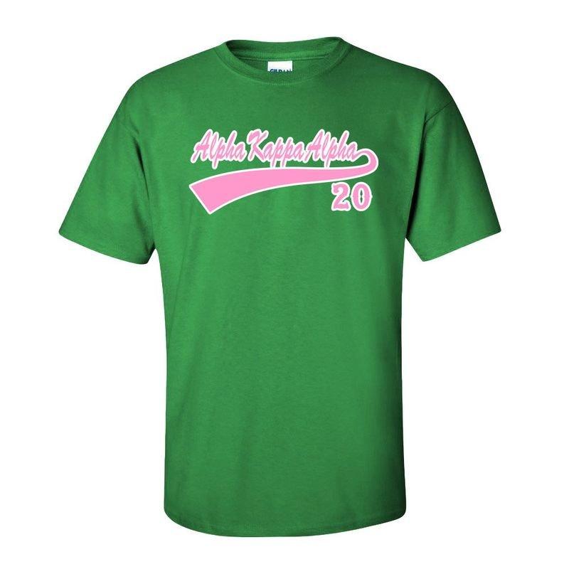 Alpha Kappa Alpha Tail T-Shirts