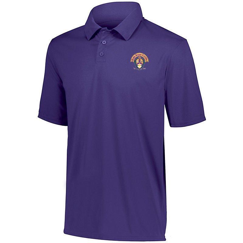 DISCOUNT-Alpha Kappa Lambda- World Famous Greek Crest - Shield Vital Polo