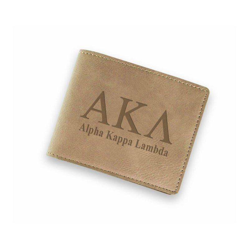 Alpha Kappa Lambda Fraternity Wallet